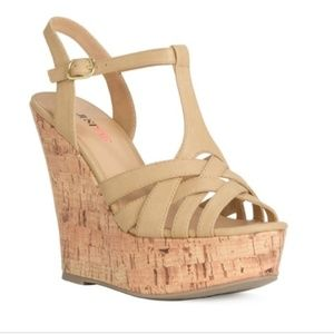 Just Fab Wedge Sandals